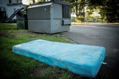 throw mattress away with bed bugs