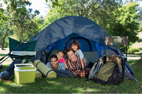 can you get bed bugs from tent camping?